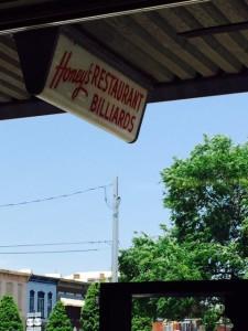 Fayetteville -- Honeys sign