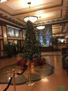 Edison Hotel lobby