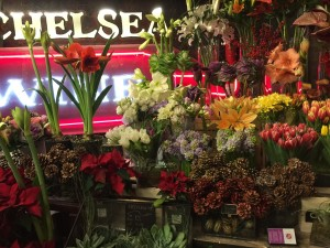 A flower shop in Chelsea