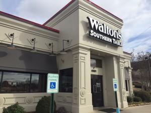 Walton's - exterior