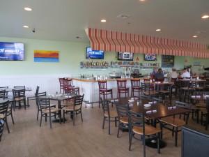 Interior of Beach House Kitchen.
