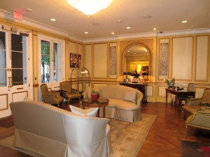 Lobby of Hotel Mazarin