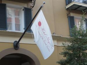 Exterior of Hotel Mazarin