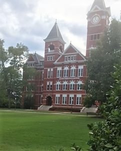 The building that represents Auburn to many people.