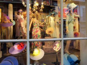 Colorful store window in the French Quarter.