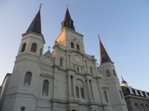 Cathedral in Jackson Square -- iconic symbol of New Orleans.