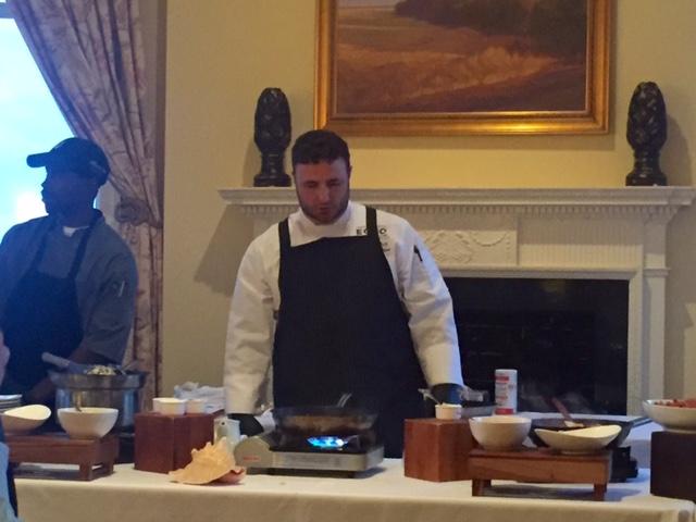 St. Simons Chef James Flack at ECHO