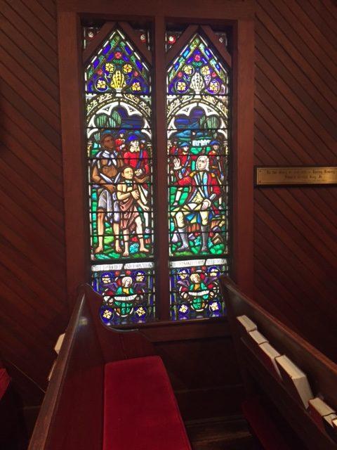 St. Simons windows Christ Church