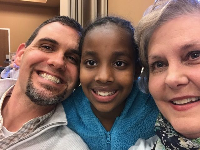 Matt, Birti and Grandmomma in another selfie.