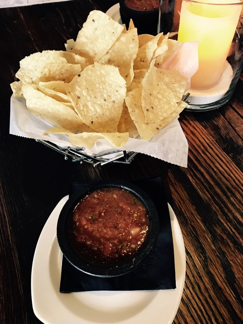 Chips and salsa -- fresh, fresh, fresh.